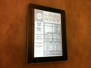 The Paris Review - Zinio for iPad